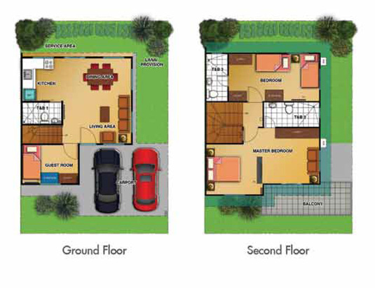 Chessa single attached house - Single floor housessquare meters ...